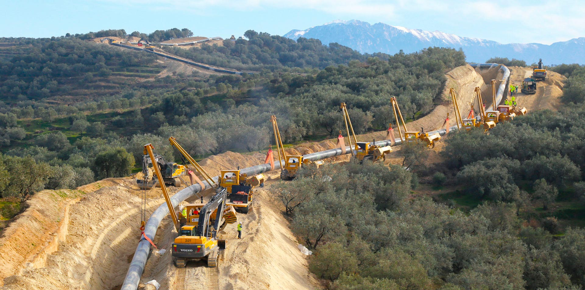 Объект Trans adriatic pipeline